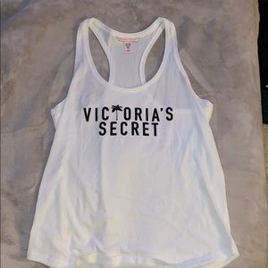 Victoria's Secret white tank